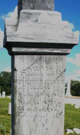 BAKER, SARAH - Montgomery County, Ohio | SARAH BAKER - Ohio Gravestone Photos
