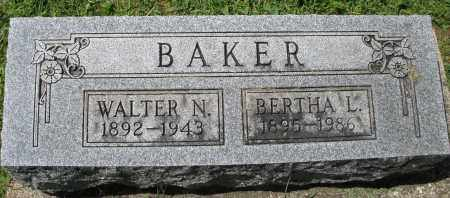 BAKER, BERTHA L. - Montgomery County, Ohio | BERTHA L. BAKER - Ohio Gravestone Photos