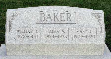 BAKER, MARY C. - Montgomery County, Ohio | MARY C. BAKER - Ohio Gravestone Photos