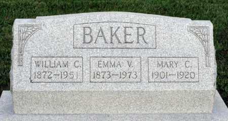 BAKER, EMMA V. - Montgomery County, Ohio | EMMA V. BAKER - Ohio Gravestone Photos