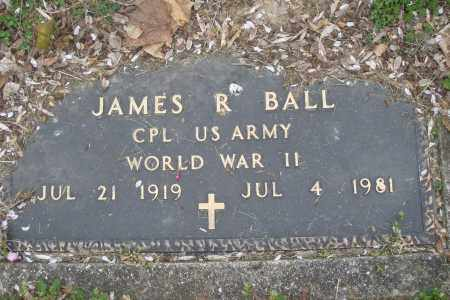BALL, JAMES R. - Montgomery County, Ohio | JAMES R. BALL - Ohio Gravestone Photos