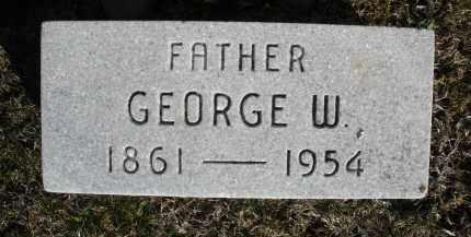 BALLINGER, GEORGE W. - Montgomery County, Ohio   GEORGE W. BALLINGER - Ohio Gravestone Photos