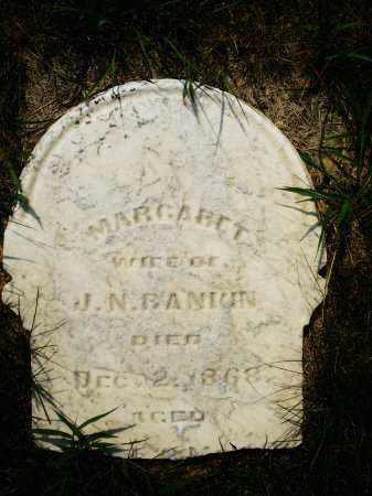 BANIUN, MARGARET - Montgomery County, Ohio | MARGARET BANIUN - Ohio Gravestone Photos
