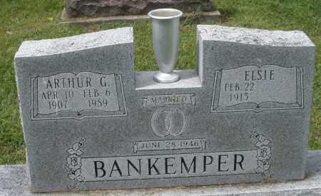 BANKEMPER, ARTHUR G. - Montgomery County, Ohio   ARTHUR G. BANKEMPER - Ohio Gravestone Photos