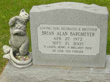 BARGMEYER, BRIAN ALAN - Montgomery County, Ohio | BRIAN ALAN BARGMEYER - Ohio Gravestone Photos
