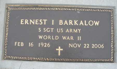 BARKALOW, ERNEST - Montgomery County, Ohio | ERNEST BARKALOW - Ohio Gravestone Photos