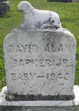 BARKER, DAVID ALAN JR. - Montgomery County, Ohio | DAVID ALAN JR. BARKER - Ohio Gravestone Photos
