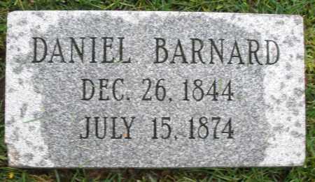 BARNARD, DANIEL - Montgomery County, Ohio   DANIEL BARNARD - Ohio Gravestone Photos