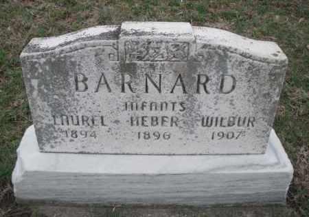 BARNARD, WILBUR INFANT - Montgomery County, Ohio | WILBUR INFANT BARNARD - Ohio Gravestone Photos