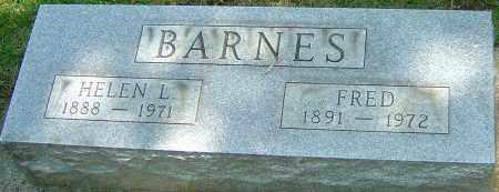 BARNES, FRED - Montgomery County, Ohio | FRED BARNES - Ohio Gravestone Photos