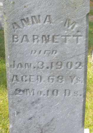 BARNETT, ANNA M. - Montgomery County, Ohio | ANNA M. BARNETT - Ohio Gravestone Photos