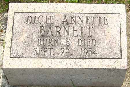 BARNETT, DICIE ANNETTE - Montgomery County, Ohio | DICIE ANNETTE BARNETT - Ohio Gravestone Photos