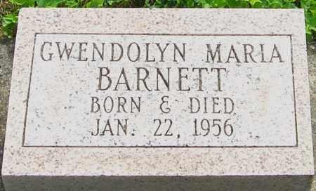 BARNETT, GWENDOLYN - Montgomery County, Ohio | GWENDOLYN BARNETT - Ohio Gravestone Photos