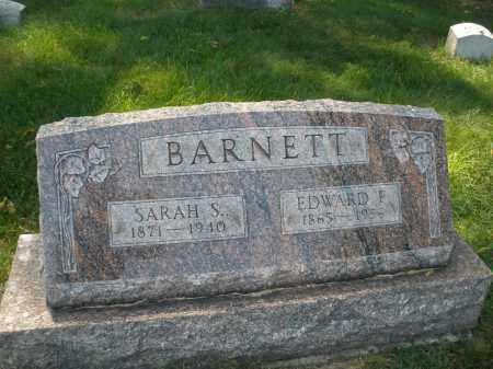BARNETT, EDWARD F. - Montgomery County, Ohio   EDWARD F. BARNETT - Ohio Gravestone Photos