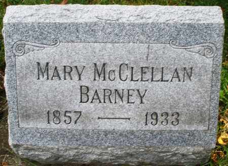 BARNEY, MARY - Montgomery County, Ohio | MARY BARNEY - Ohio Gravestone Photos