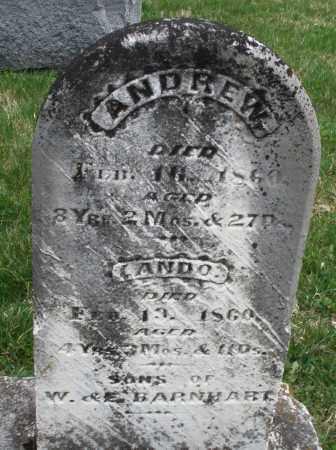 BARNHART, ANDREW - Montgomery County, Ohio | ANDREW BARNHART - Ohio Gravestone Photos