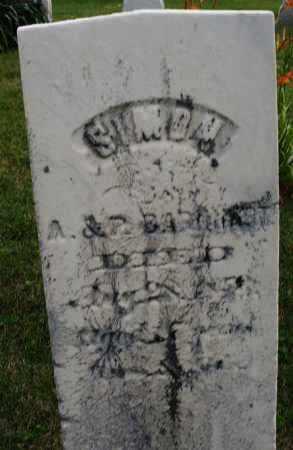 BARNHART, SIMON - Montgomery County, Ohio | SIMON BARNHART - Ohio Gravestone Photos