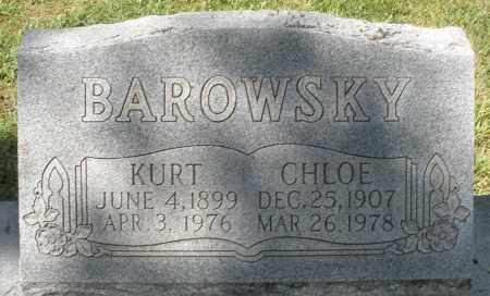 BAROWSKY, KURT - Montgomery County, Ohio | KURT BAROWSKY - Ohio Gravestone Photos