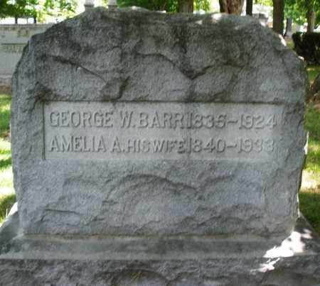 BARR, AMELIA A. - Montgomery County, Ohio | AMELIA A. BARR - Ohio Gravestone Photos