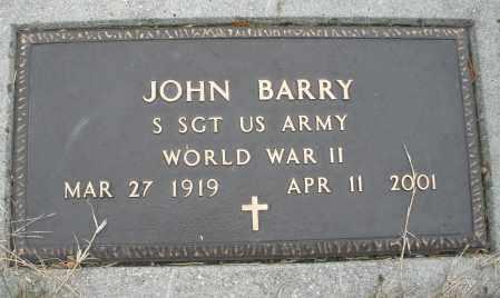 BARRY, JOHN - Montgomery County, Ohio   JOHN BARRY - Ohio Gravestone Photos