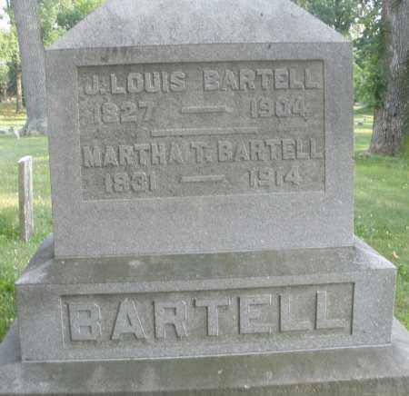 BARTELL, J. LOUIS - Montgomery County, Ohio   J. LOUIS BARTELL - Ohio Gravestone Photos