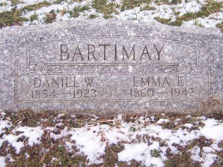 BARTIMAY, DANIEL W. - Montgomery County, Ohio   DANIEL W. BARTIMAY - Ohio Gravestone Photos