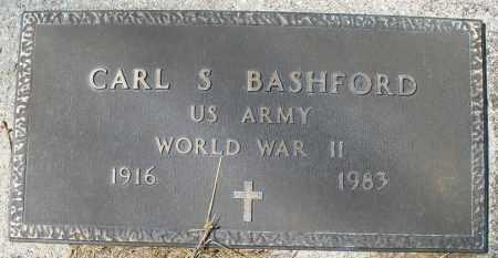 BASHFORD, CARL S. - Montgomery County, Ohio | CARL S. BASHFORD - Ohio Gravestone Photos