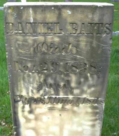 BATTS, DANIEL - Montgomery County, Ohio   DANIEL BATTS - Ohio Gravestone Photos