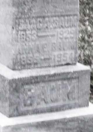 BAUM, ANNA E. - Montgomery County, Ohio   ANNA E. BAUM - Ohio Gravestone Photos