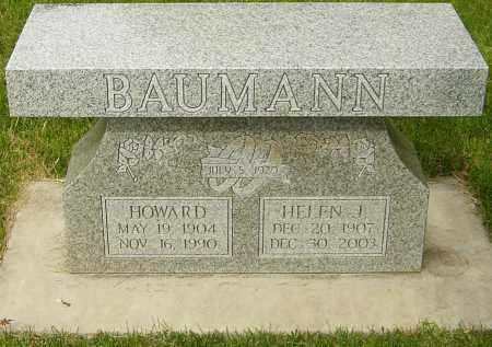 BAUMANN, HELEN J - Montgomery County, Ohio | HELEN J BAUMANN - Ohio Gravestone Photos