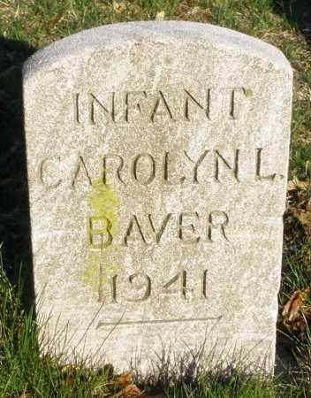 BAVER, CAROLYN L. INFANT - Montgomery County, Ohio | CAROLYN L. INFANT BAVER - Ohio Gravestone Photos