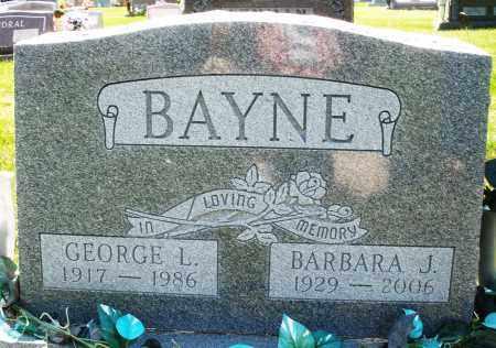 BAYNE, BARBARA J. - Montgomery County, Ohio | BARBARA J. BAYNE - Ohio Gravestone Photos