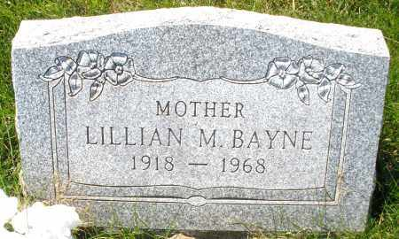 BAYNE, LILLIAN M. - Montgomery County, Ohio | LILLIAN M. BAYNE - Ohio Gravestone Photos