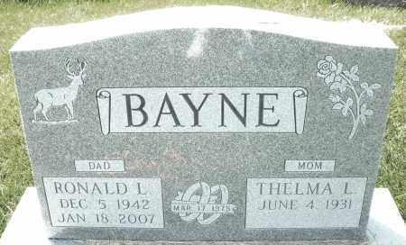 "BAYNE, RONALD L. "" BUTCH "" - Montgomery County, Ohio | RONALD L. "" BUTCH "" BAYNE - Ohio Gravestone Photos"