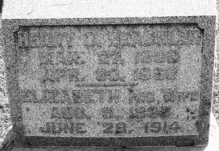 BEACHLER, HENRY - Montgomery County, Ohio   HENRY BEACHLER - Ohio Gravestone Photos