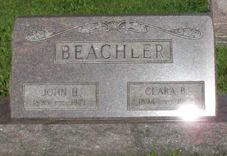 BEACHLER, CLARA B. - Montgomery County, Ohio | CLARA B. BEACHLER - Ohio Gravestone Photos