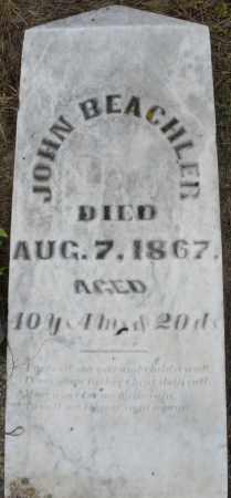 BEACHLER, JOHN - Montgomery County, Ohio | JOHN BEACHLER - Ohio Gravestone Photos