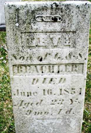 BEACHLER, LEVI - Montgomery County, Ohio | LEVI BEACHLER - Ohio Gravestone Photos
