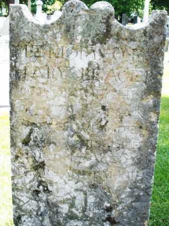 BEAGER, MARY - Montgomery County, Ohio   MARY BEAGER - Ohio Gravestone Photos