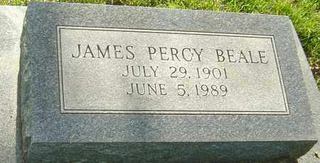 BEALE, JAMES PERCY - Montgomery County, Ohio | JAMES PERCY BEALE - Ohio Gravestone Photos