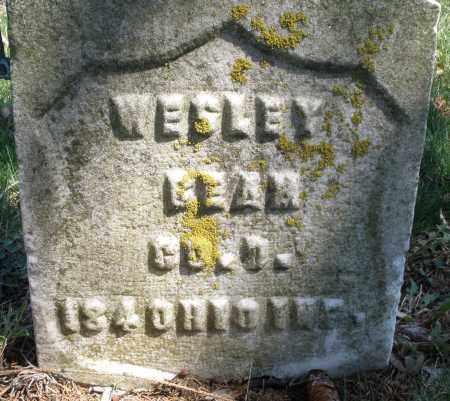 BEAN, WESLEY - Montgomery County, Ohio   WESLEY BEAN - Ohio Gravestone Photos