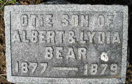 BEAR, OTIE - Montgomery County, Ohio | OTIE BEAR - Ohio Gravestone Photos