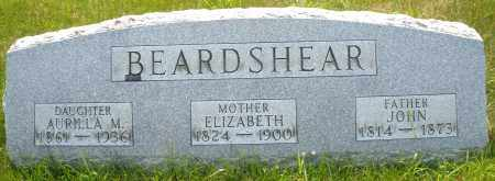 BEARDSHEAR, AURILLA M. - Montgomery County, Ohio | AURILLA M. BEARDSHEAR - Ohio Gravestone Photos