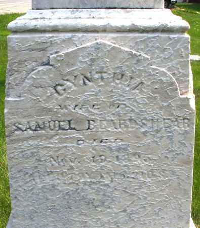 BEARDSHEAR, CYNTHIA - Montgomery County, Ohio   CYNTHIA BEARDSHEAR - Ohio Gravestone Photos