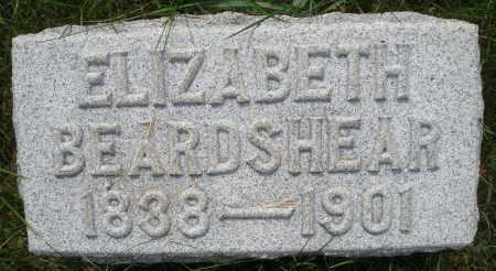 BEARDSHEAR, ELIZABETH - Montgomery County, Ohio | ELIZABETH BEARDSHEAR - Ohio Gravestone Photos