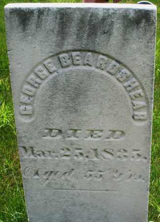 BEARDSHEAR, GEORGE - Montgomery County, Ohio | GEORGE BEARDSHEAR - Ohio Gravestone Photos
