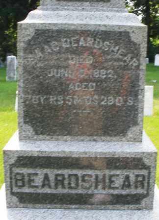 BEARDSHEAR, ISAAC - Montgomery County, Ohio | ISAAC BEARDSHEAR - Ohio Gravestone Photos