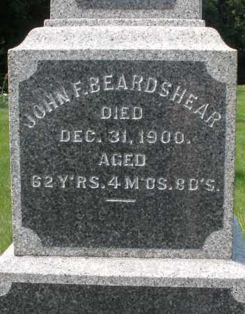 BEARDSHEAR, JOHN F. - Montgomery County, Ohio | JOHN F. BEARDSHEAR - Ohio Gravestone Photos