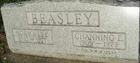 BEASLEY, CHANNING E - Montgomery County, Ohio   CHANNING E BEASLEY - Ohio Gravestone Photos