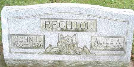 BECHTOL, ALICE A. - Montgomery County, Ohio | ALICE A. BECHTOL - Ohio Gravestone Photos